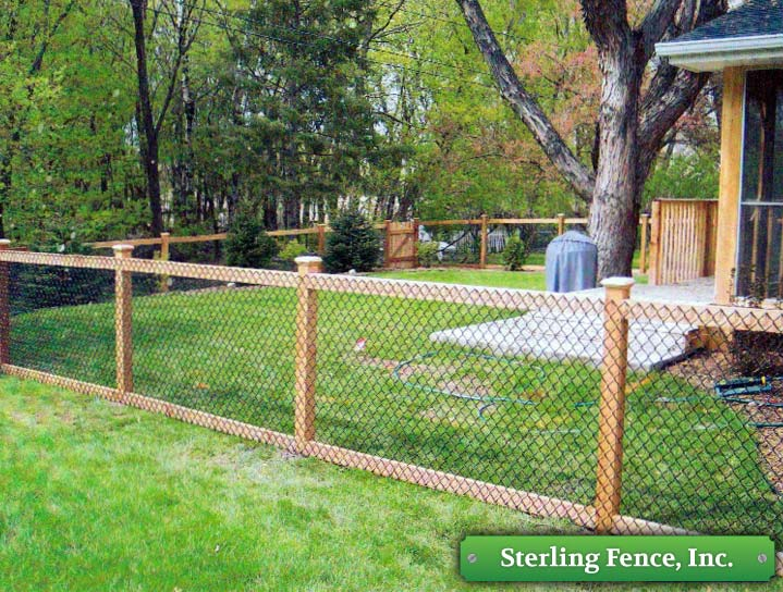 Image Result For Chain Link Fence Design Ideas