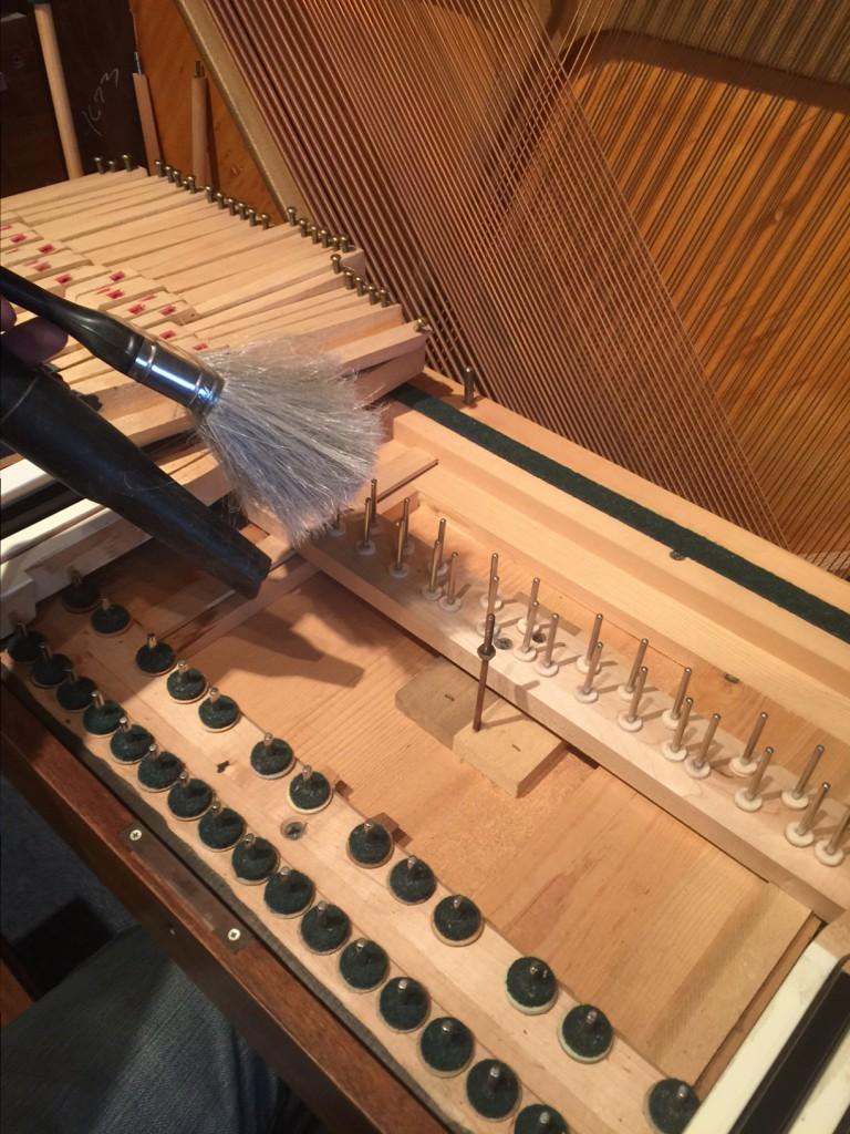 Spinet Piano Parts Diagram