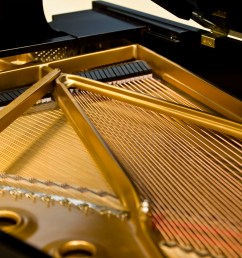 steinway grand piano iron plates and strings [ 4368 x 2912 Pixel ]