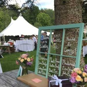 wedding day set up | Sterling Ridge Resort