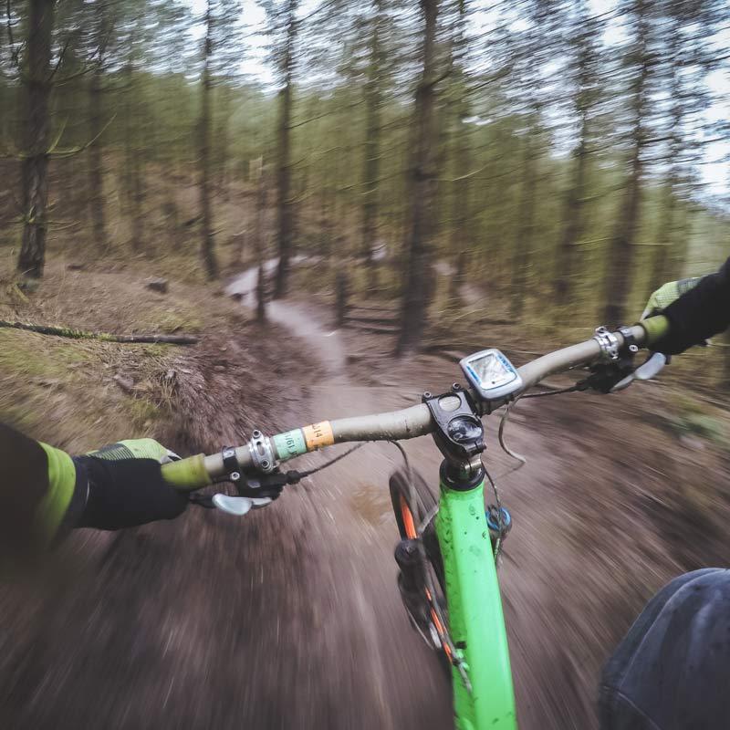 Mountain Bike Vermont - paths near Sterling Ridge Resort