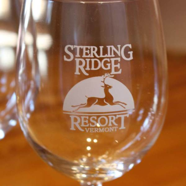 Wine glass | Sterling Ridge Resort