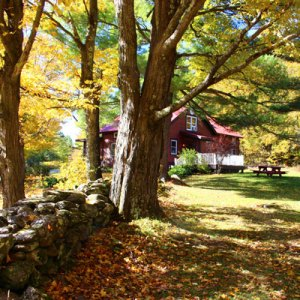 peaceful fall getaway