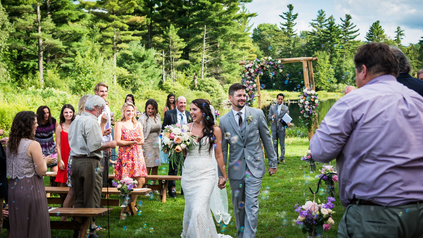 wedding planning - outdoor wedding in vermont