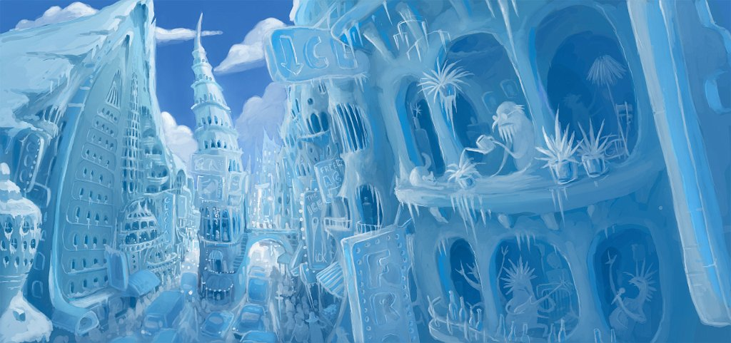 ice and snow metropolis
