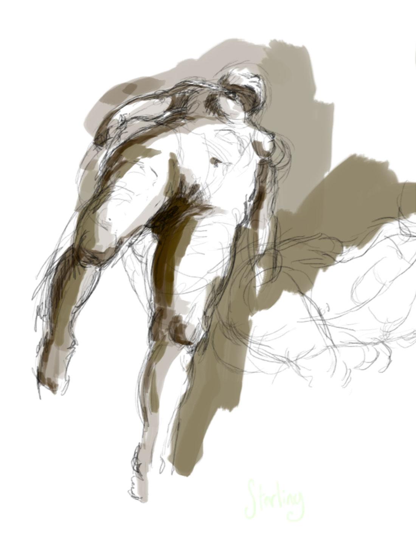 female digital nude