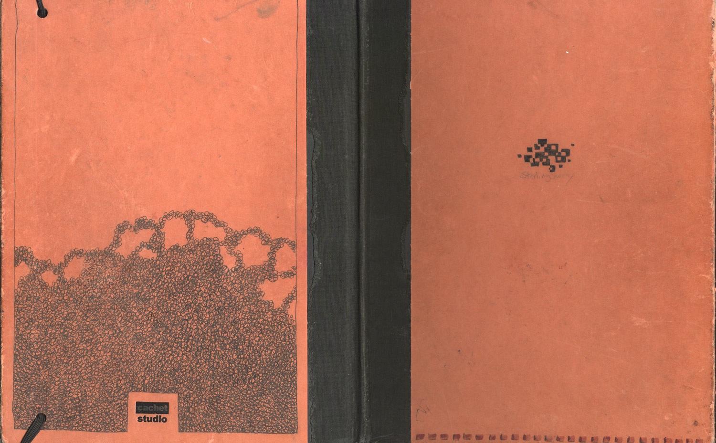 sketchbook, front and back