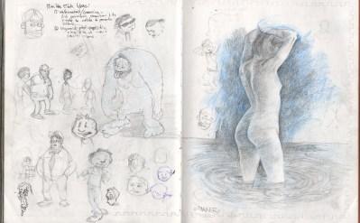 nude water study