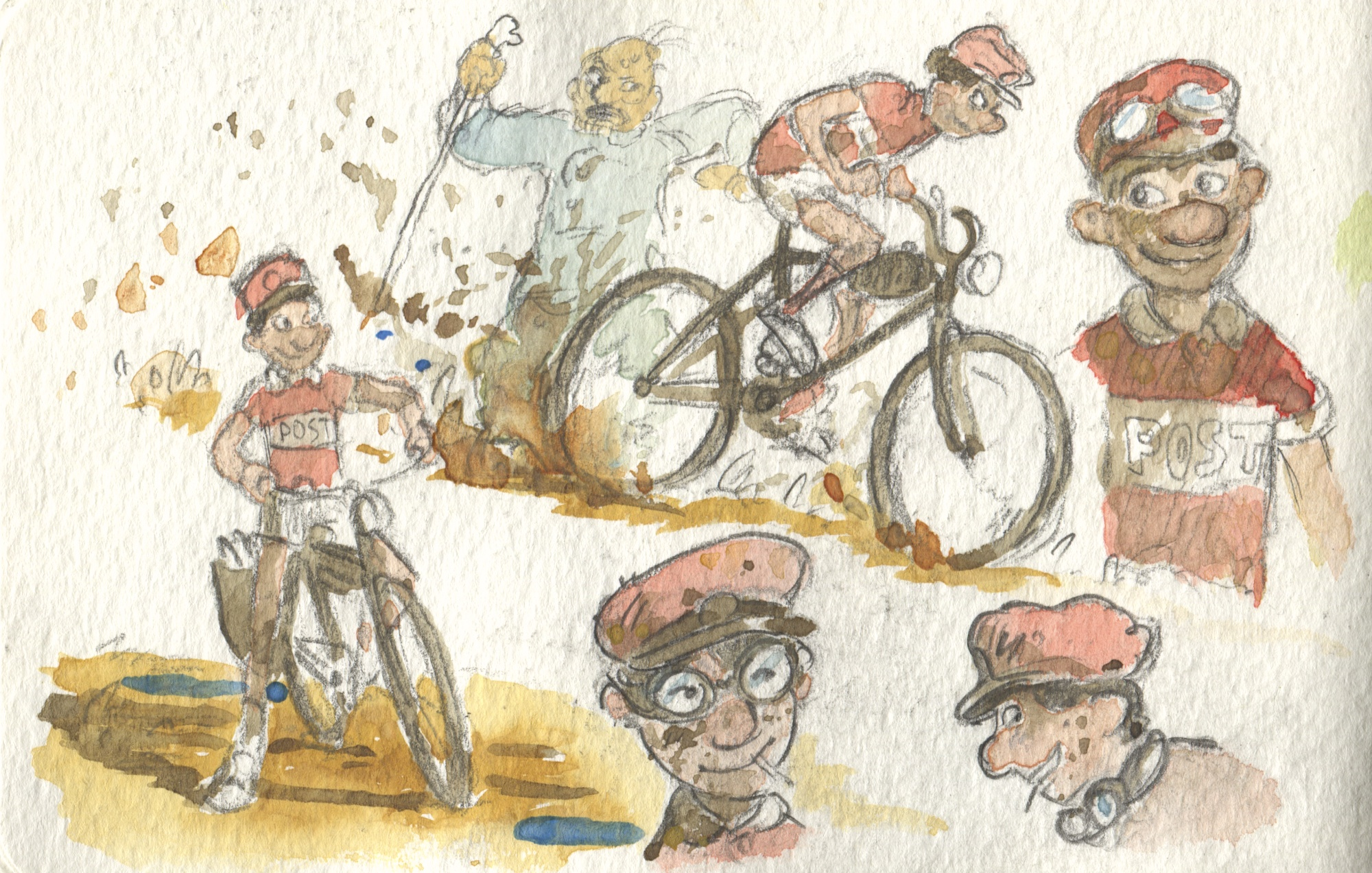 a boy and his bike