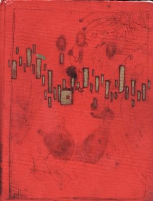 red sketchbook cover