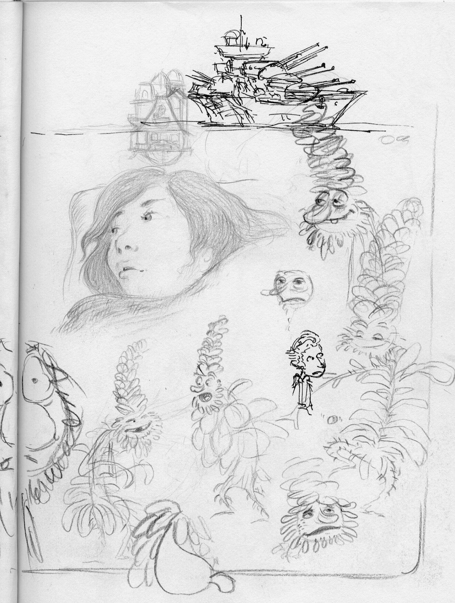 plant cartoons