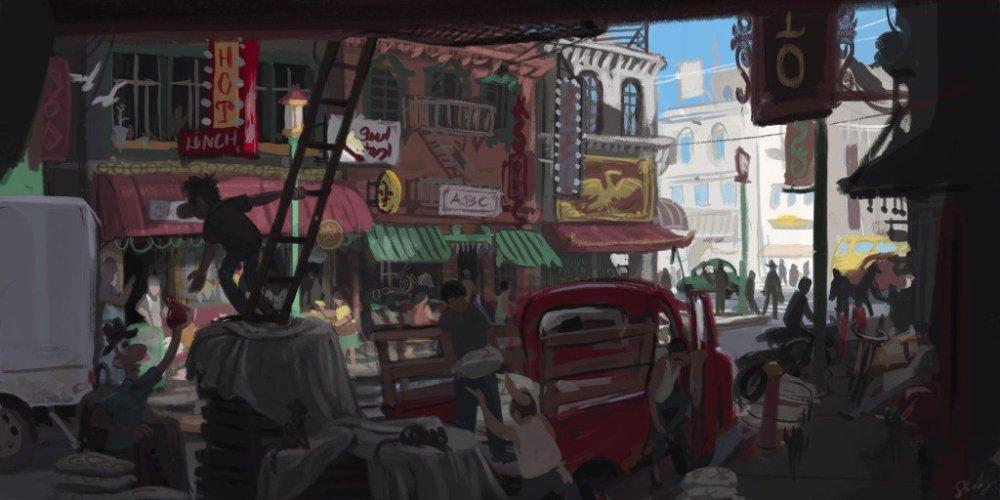 San Francisco Chinatown alley