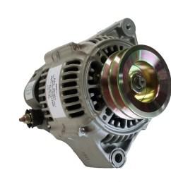 yanmar 6lp 12v 80 amp denso style alternator double pulley rplc yanmar 119773 77200 sterndrive engineering [ 1024 x 768 Pixel ]