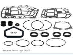 Yamaha outboard seal kit with gaskets and o rings