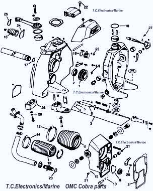 Volvo Penta Sx Outdrive Parts Diagram Sterndrive Repair