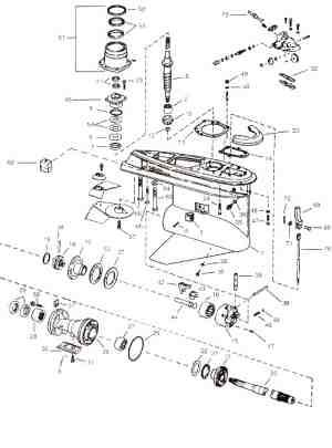 Volvo Penta Outdrive Schematics, Volvo, Free Engine Image