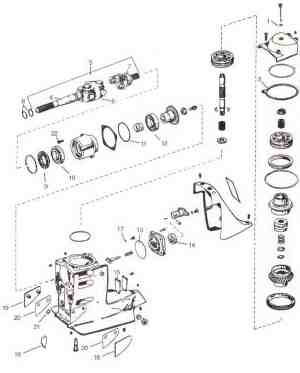 OMC parts *Exploded view drawings *Outdrive repair help video