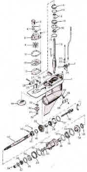 Outboard, Outdrive repair videos *Drawings *Illustrations