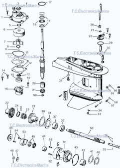 Johnson / Evinrude outboard parts drawings * How to videos