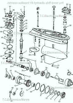 Johnson/Evinrude outboard parts drawings *How to videos