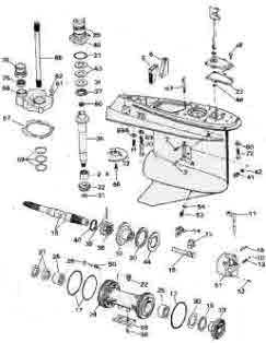 Mercury Outboard Shift Cable Diagram, Mercury, Free Engine
