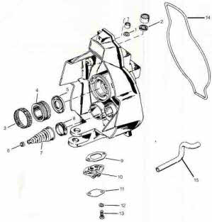 Alpha exploded view outdrive parts drawings