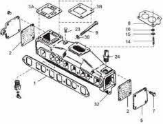 Wiring Diagram Database: 43 Mercruiser Drain Plugs Diagram