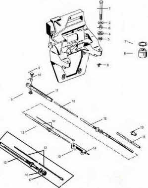 Mercruiser Transom Embly Diagram. Diagram. Auto Parts