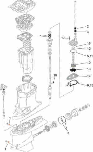 Yamaha outboard parts *I need help page