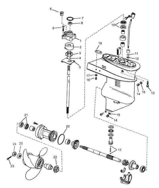 evinrude 115 ficht wiring diagram plug wire 25 hp mercury outboard parts