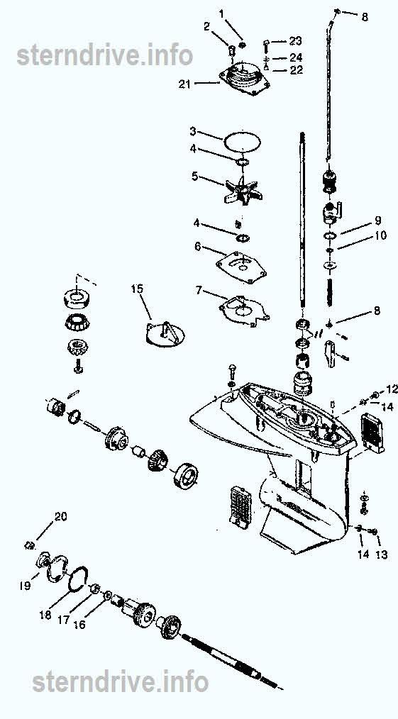 basic jet boat wiring diagram saturn sl2 stereo outboard motors parts mercury - impremedia.net