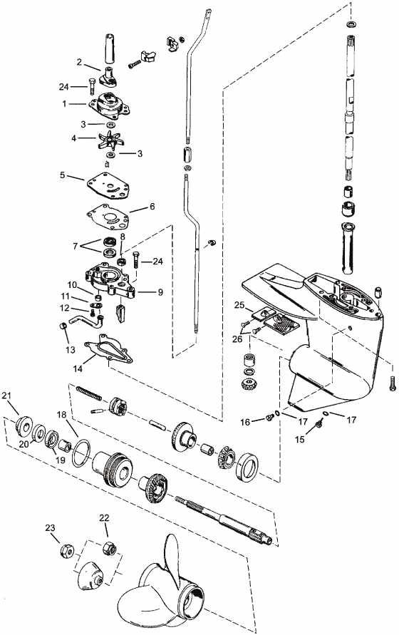 4 6 Mercury Engine Diagram, 4, Free Engine Image For User