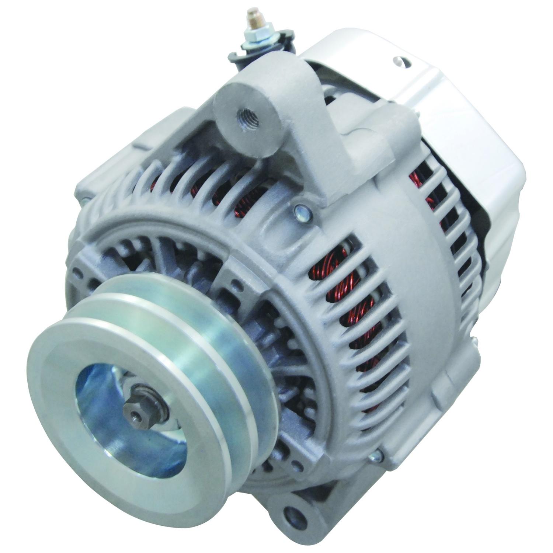 delco 7si alternator wiring diagram trailer light 4 wire inboard marine motor engine power