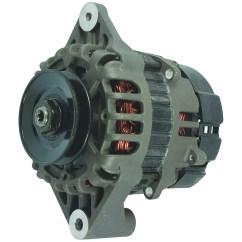 Delco 7si Alternator Wiring Diagram Double Bubble Inboard Marine Motor Engine Power