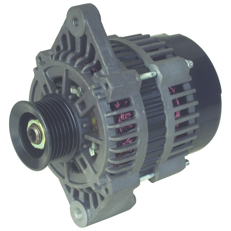 delco 7si alternator wiring diagram 220v dryer plug inboard marine motor engine power
