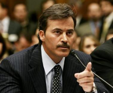 Image result for palmeiro wags finger hearing