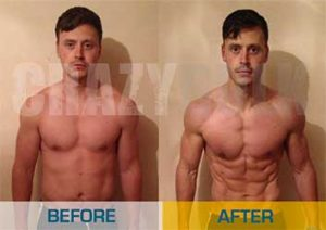 Crazybulk Before and After