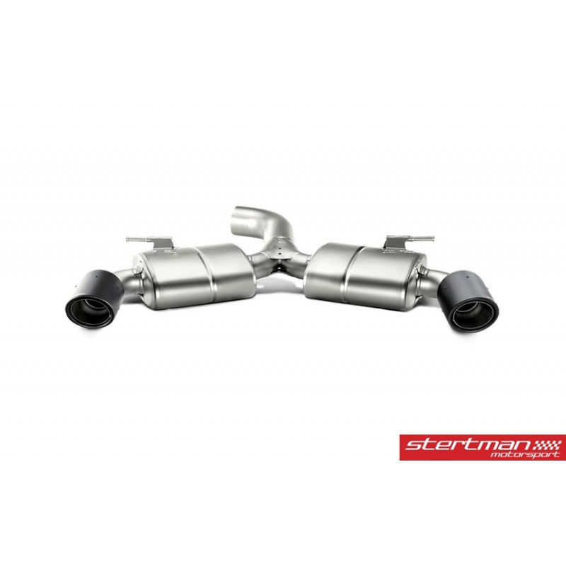 Volkswagen Golf GTi MK7 Akrapovic Slip-On Race i Titan med