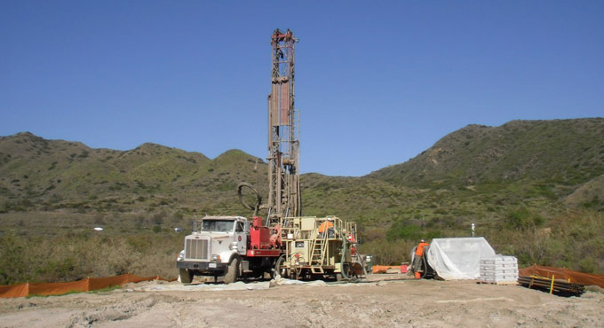 Obs well drilling