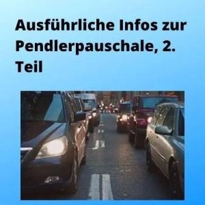 Ausführliche Infos zur Pendlerpauschale, 2. Teil