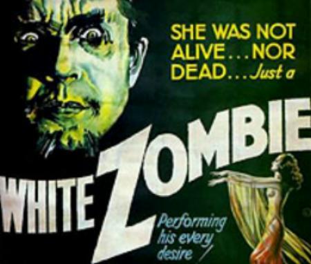 White Zombie film poster