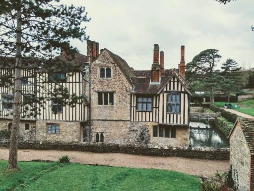 Ightham Mote - inspiration for my new ghost story