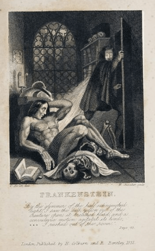 Five Favourite Creepy Stories: #1 Frankenstein, Mary Shelley