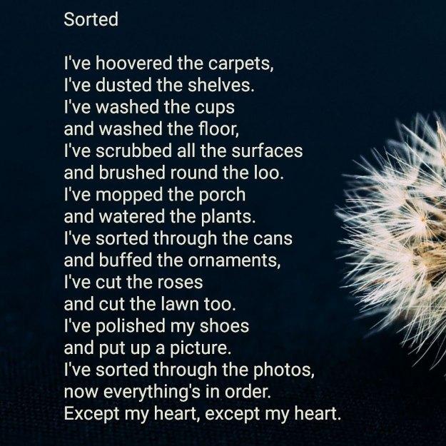Sorted poem