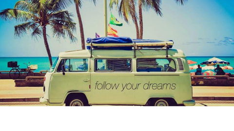 ARE YOU FOLLOWING YOUR DREAMS ?