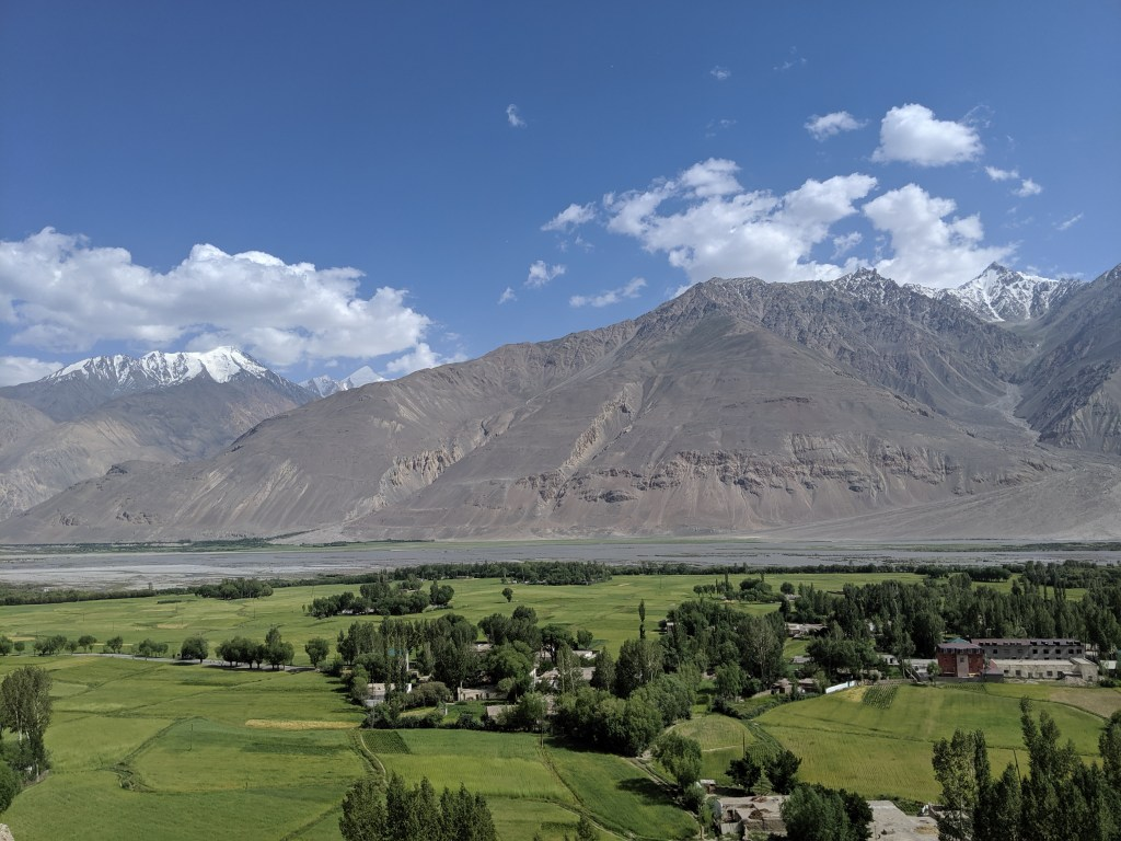 Other villages in the valley
