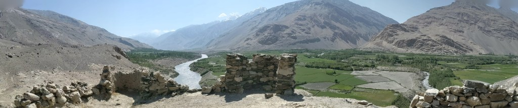 View at the top of the Khakaha ruins