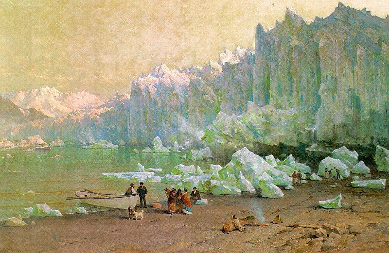Thomas Hill The Muir Glacier in Alaska