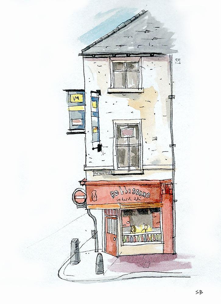 bellisimo-leeds-cafe-ink-watercolour-sketch-steve-beadle-art