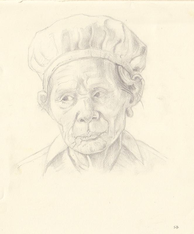 head-of-old-woman-pencil-sketchbook-steve-beadle-art